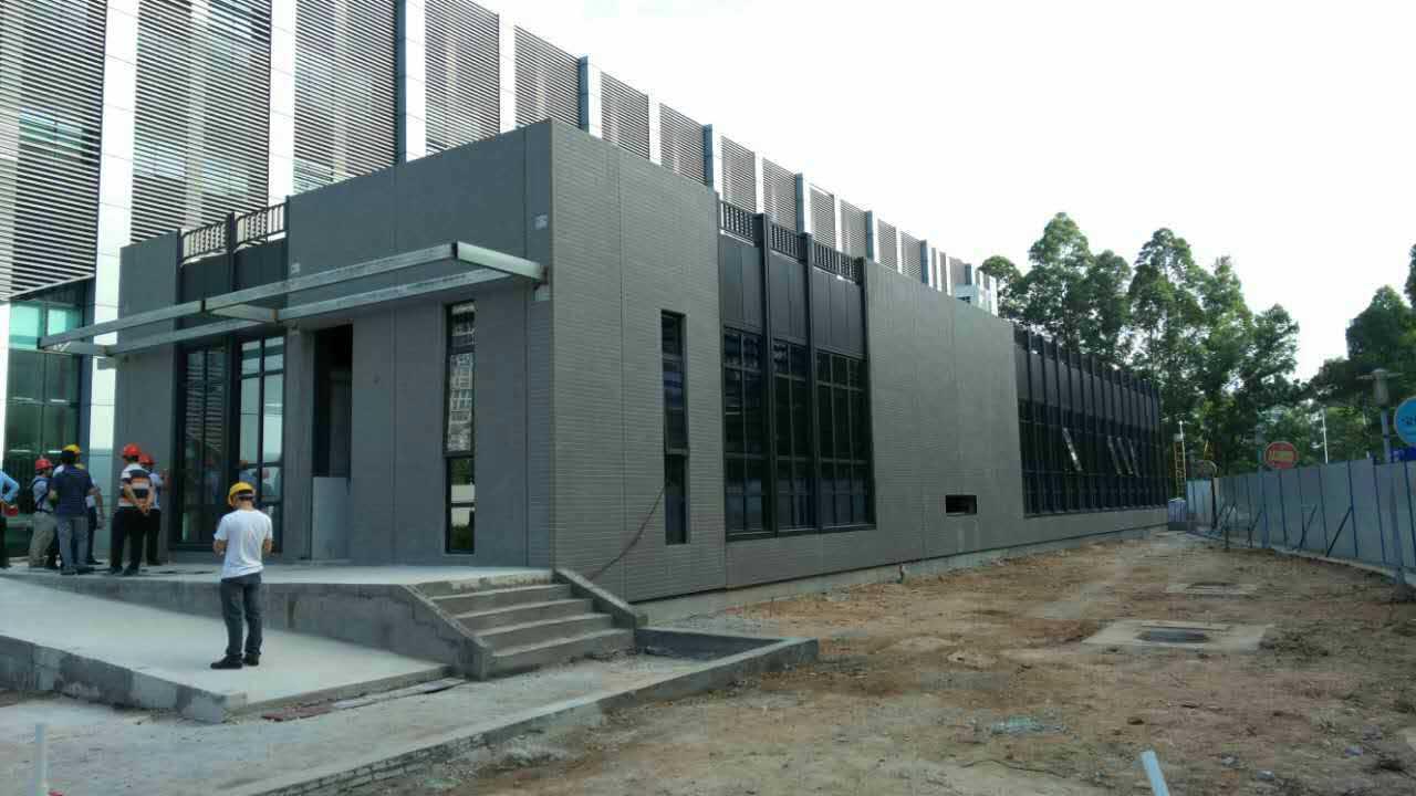 采用钢结构,预制砼内,外墙(外装修一体化).